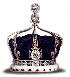 Queen Mary's Crown- Kohinoor