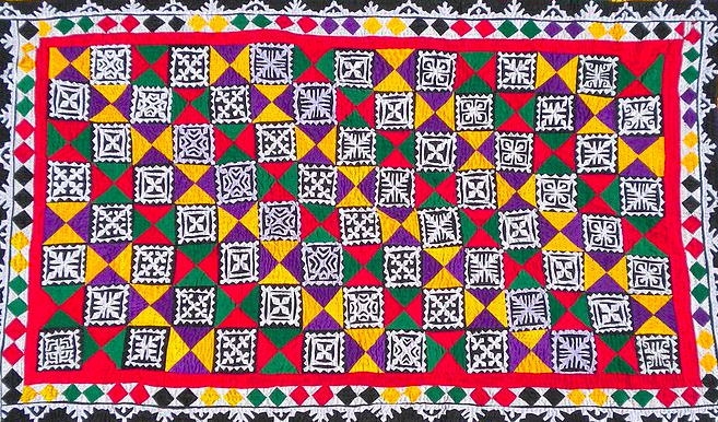 Indian Traditional Ralli Quilt