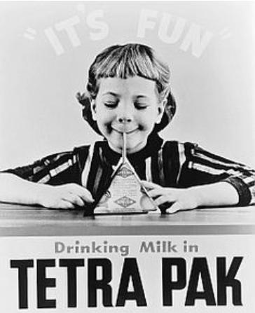 Milk In Tetra Paks