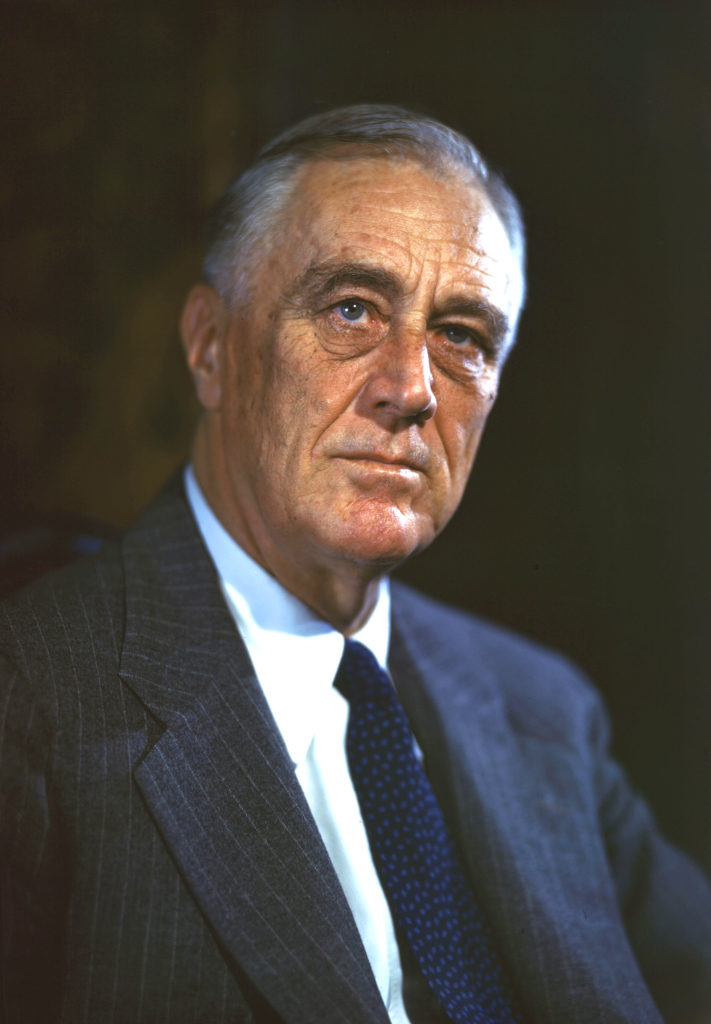 Franklin D. Roosevelt was the President of US from 1933 to 1945
