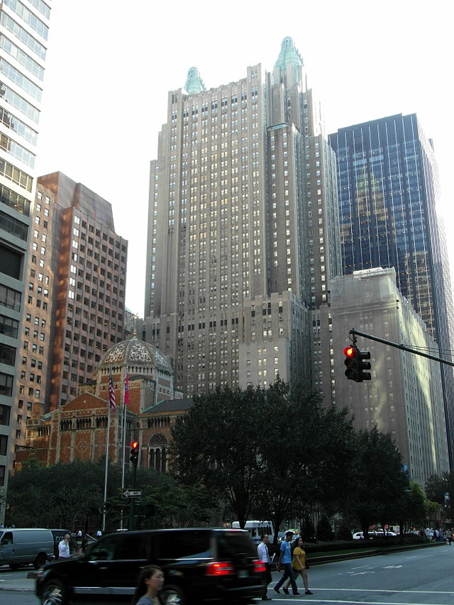 The new Waldorf Astoria building