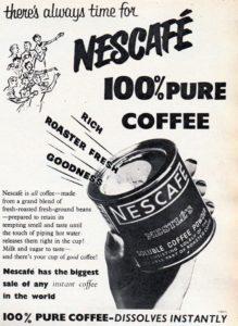 Instant Coffee- Nescafé