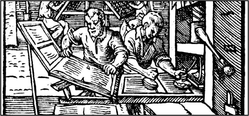 Gutenberg Movable Printing Press