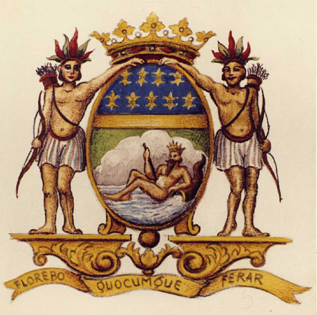 French East India Company's Coat of Arms/ Armoiries_de_la_Compagnie_des_Indes_Orientales