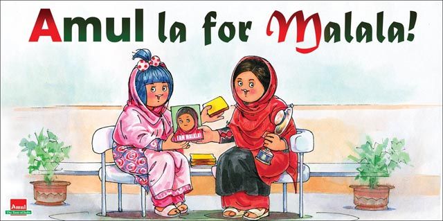 Amul Butter Girl