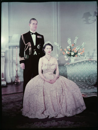 Princess Elizabeth & the Duke of Edinburgh