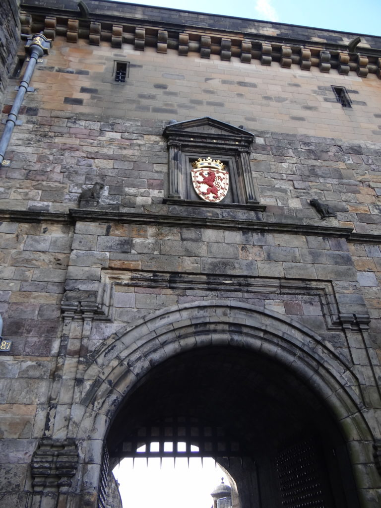 Exploring the Edinburgh Castle