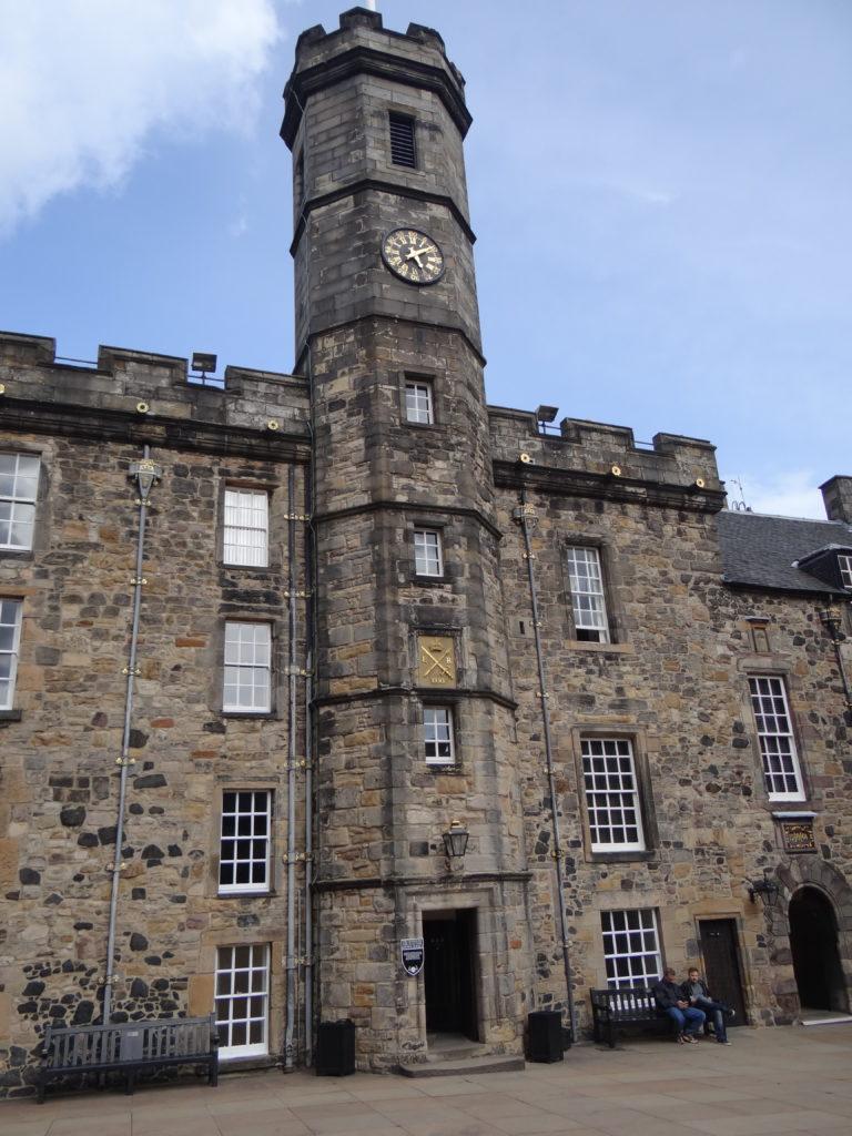 Exploring the Edinburgh Castle