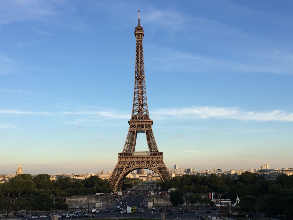 The Parisian Charm: Eiffel Tower