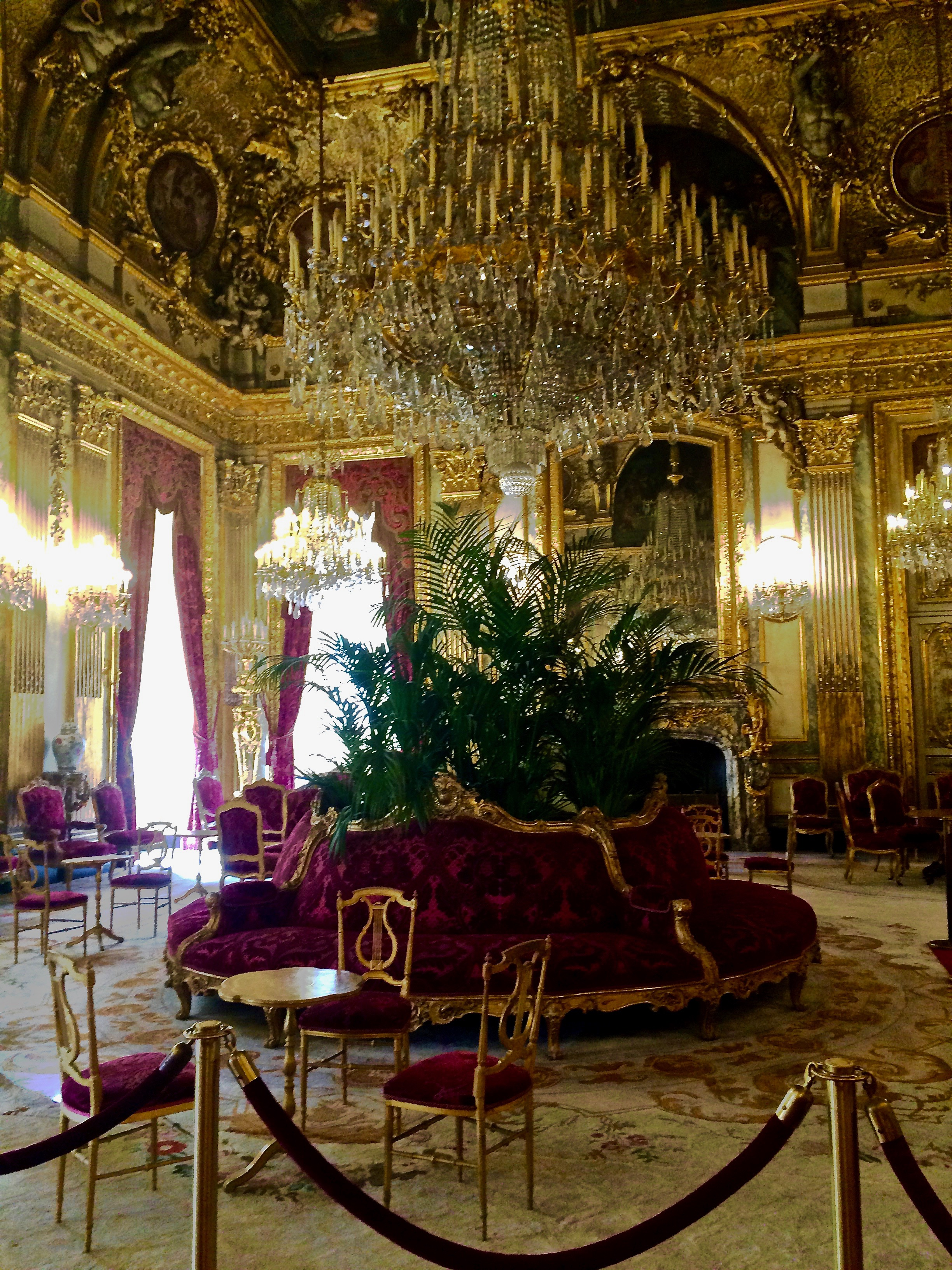 Lost in the Louvre: Napoleon III Apartments